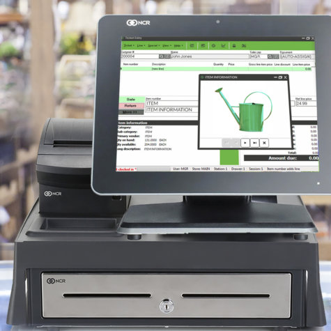 Rapid Garden POS - Counterpoint - NCR - Full System Set-up